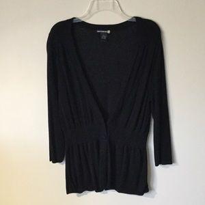 Sweaterworks Black Cardigan, M